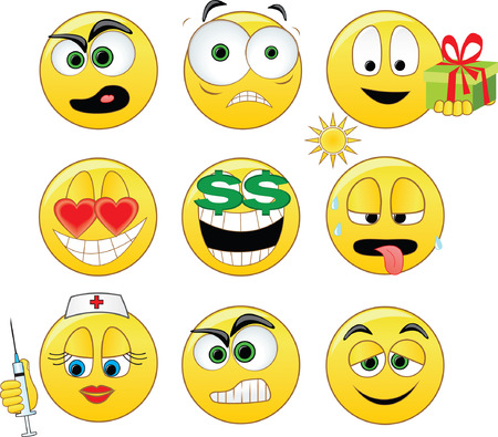 love of money: Smileys