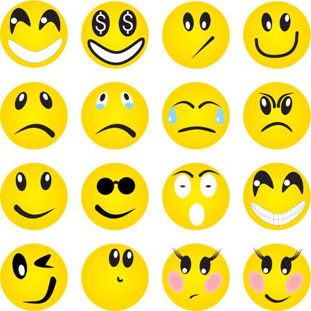 'eyes shut: Smileys