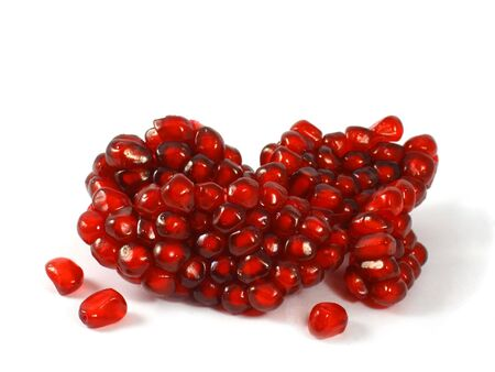 pommegranates: Isolated pomegranate