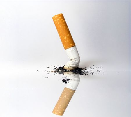 damaging: cigarette