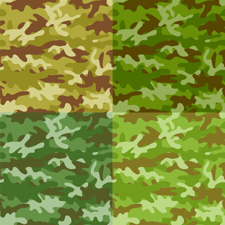 Camouflage seamless background. Vector illustration Stock Vector - 3990412