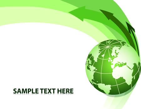 visits: Resumen de antecedentes con el mundo. Ilustraci�n vectorial