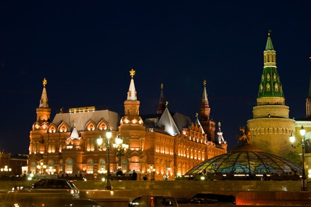 Red Square in Moscow, Russia photo