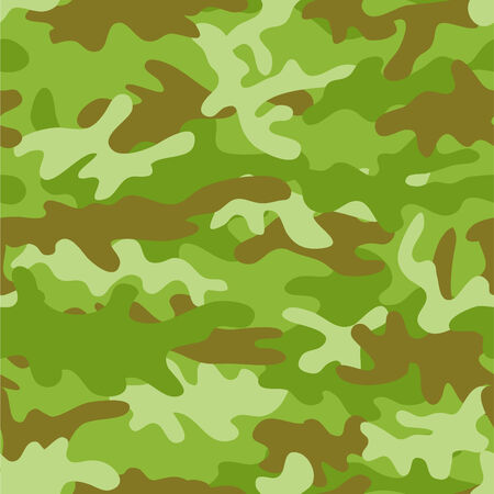 Camouflage seamless background. Vector illustration Stock Vector - 3990473