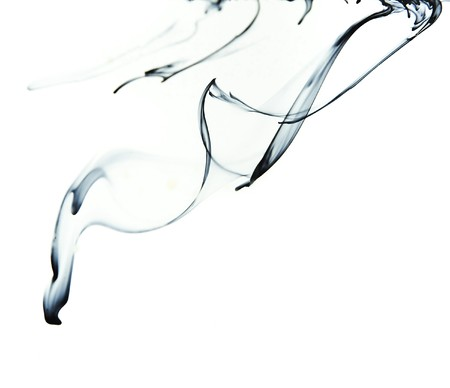Ink in water photo