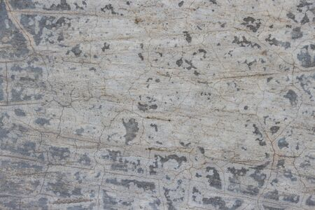 Closeup of cracked concrete texture for background Stock Photo