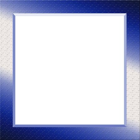 beveled: blank template on metal background
