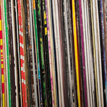 used vinyl records Stock Photo - 767612