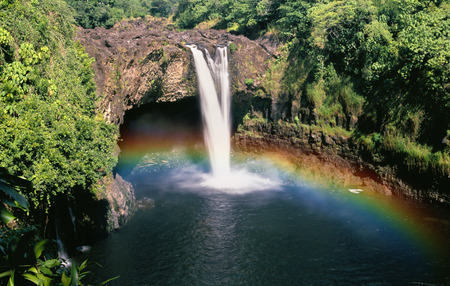hawaii: Hawaii Rainbow Falls