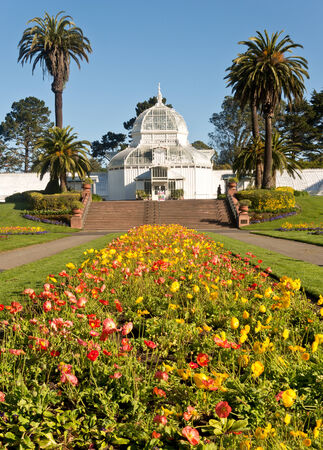 conservatory: San Francisco Conservatory of Flowers Editorial