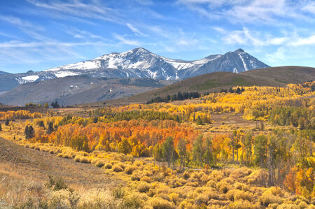 California Eastern Sierras in Autumn