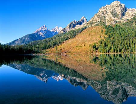 Wyoming Grand Tetons Reflection