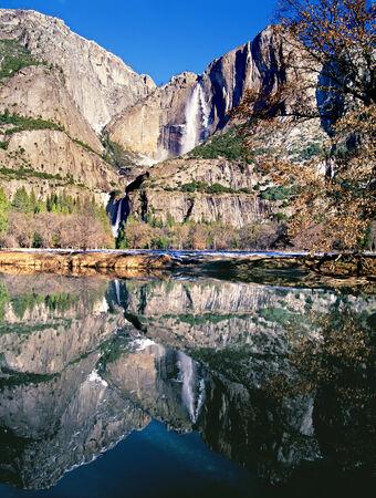 Yosemite Falls Reflection photo