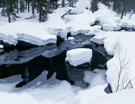 Frozen River and Black Water
