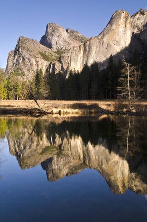 Yosemite River Refelction photo