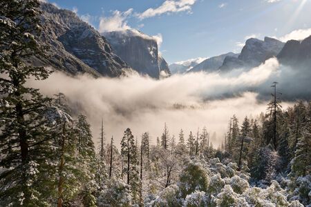 Yosemite Valley Clearing Storm photo