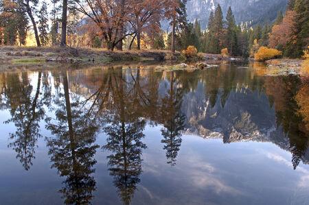 Yosemite River Reflection photo
