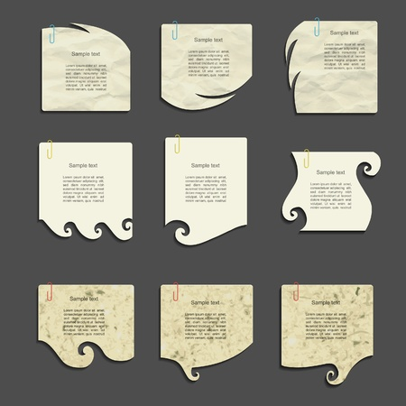 modern vector paper design Vector