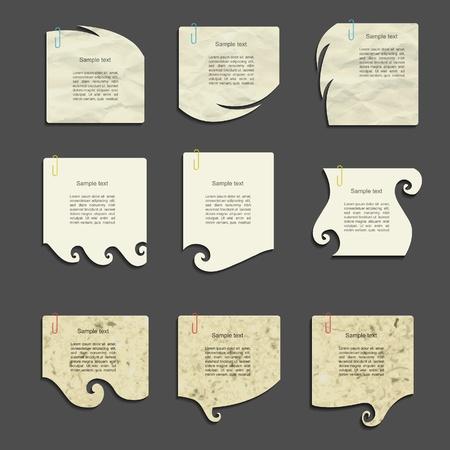 modern vector paper design