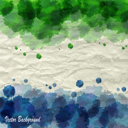 Creative auqarell background