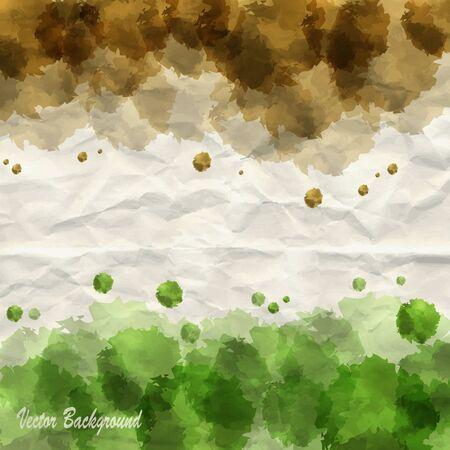 Creative watercolor background Stock Vector - 13465035