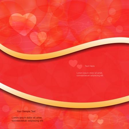 Creative modern sweet abstract heart Illustration