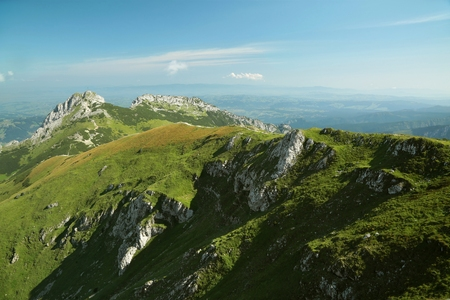 giewont: Pass leading to the top of Giewont in the Tatras, Poland