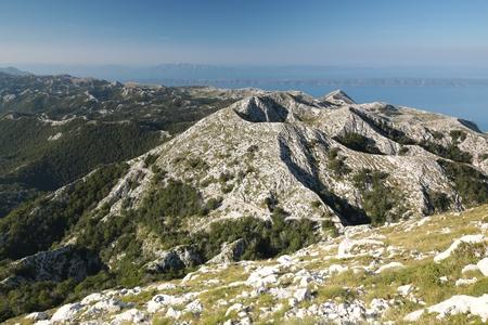 jure: Dinaric Alps, the mountain massif of Biokovo, Croatia Stock Photo