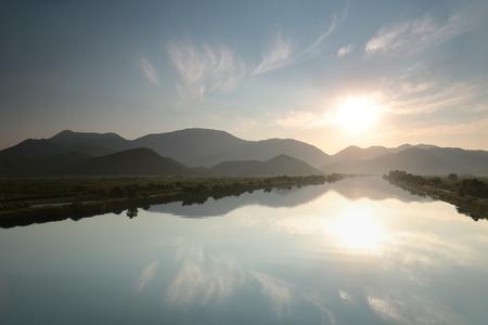 neretva: Neretva River in the valley of Dinaric mountains, Croatia