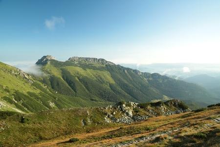 giewont: The popular mountain Giewont in Polish Tatra Mountains
