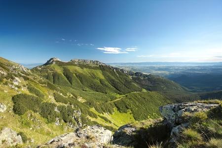 massif: Mountain massif in the western Tatras, Poland Stock Photo