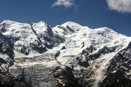blanc: Mont Blanc, Mont Blanc Massif,Chamonix, France