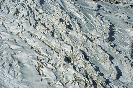 massif: Glacier Close-up, Mont Blanc massif, Chamonix, France