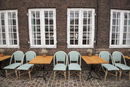 Terrace Bar On Nyhavn Canal ,Nyhavn, Copenhagen, Denmark