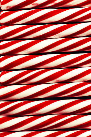 Candy cane background, Christmas background with candie cane texture, retro new year theme photo