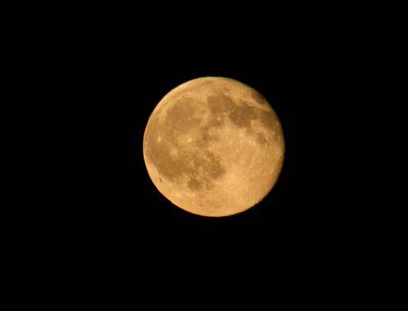 Full Red Moon