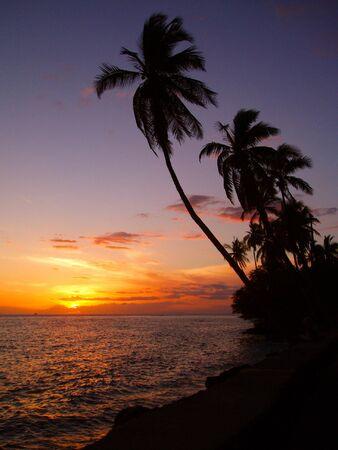 Hawaiian Sunset Banco de Imagens