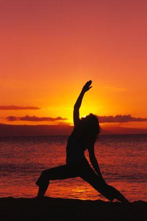 Yoga in Paradise Stock Photo - 6535927