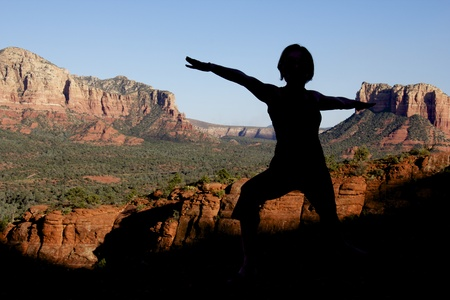 Yoga at Sedona photo
