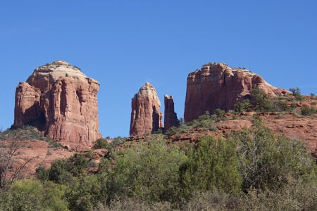 sedona: Cathedral Rock, Sedona Arizona Stock Photo