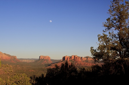 sedona: Sedona and Full Moon