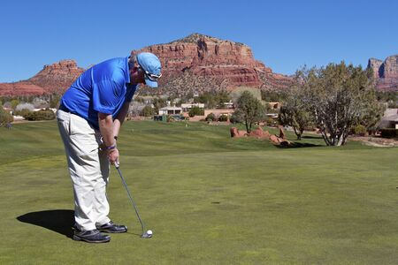 Putting in Sedona