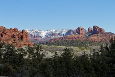 Sedona Snow Stock Photo - 13091367