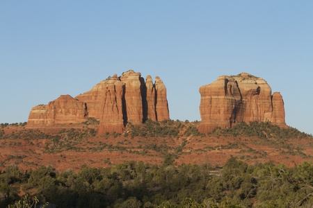 Cathedral Rock Morning photo