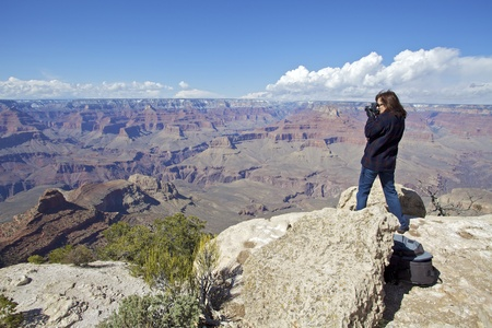 Photographing the Grand Canyon photo