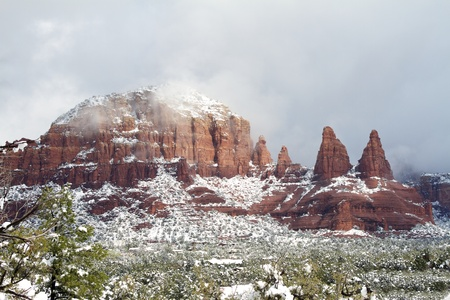 Red Rock Winter photo