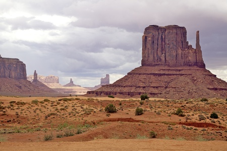 Monument Valley, UT 版權商用圖片