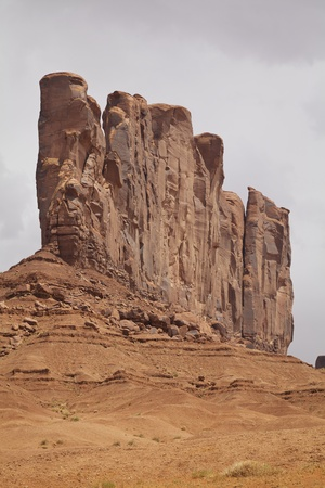 butte: Camel Butte, Monument Valley