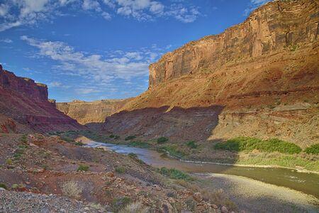 Colorado River Canyon HDR Stock Photo - 14456307