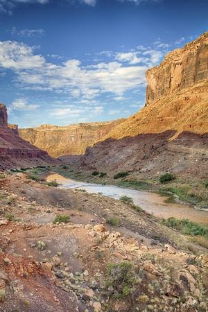 Colorado River Canyon Stock Photo - 14576714